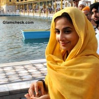 Vidya Balan Visits Golden Temple While Promoting Ghanchakkar
