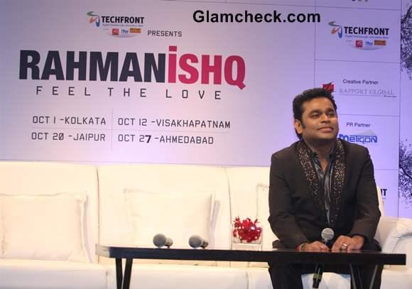 A R Rahman First Concert named Rahmanishq