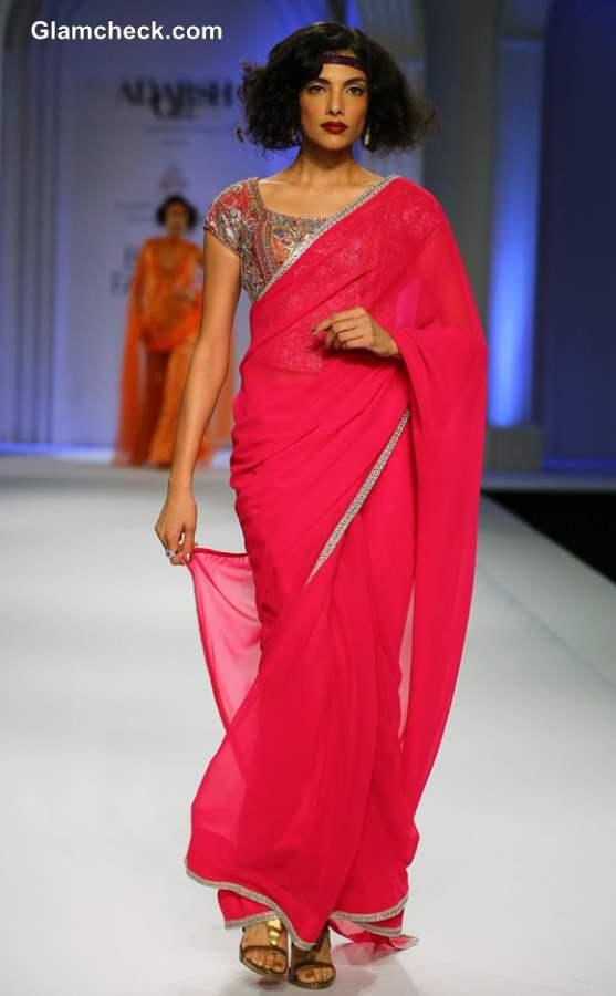 Adarsh Gill Collection India Bridal Fashion Week 2013