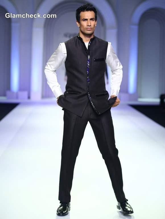 Adarsh Gill Menswar India Bridal Fashion Week 2013
