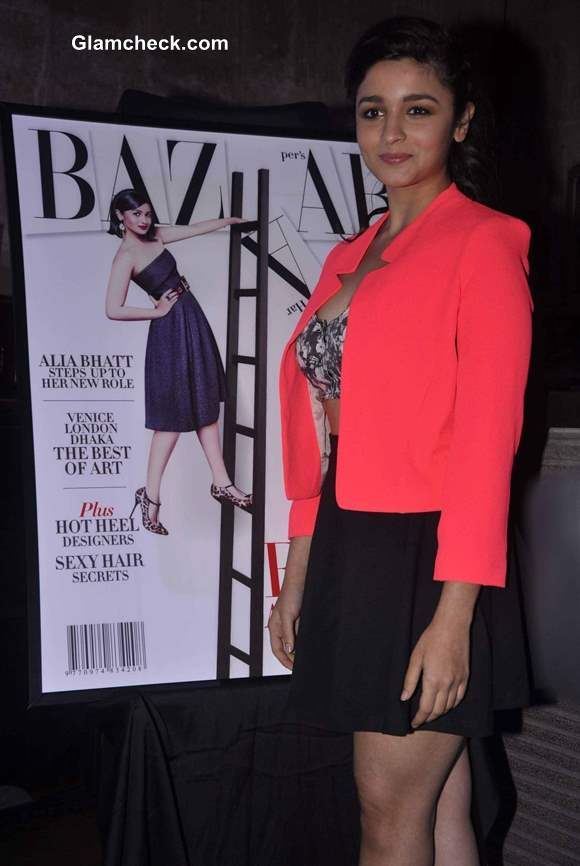 Alia Bhatt 2013 Harpers Bazaar issue