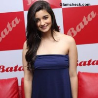 Alia Bhatt at Biggest Bata Store Launch