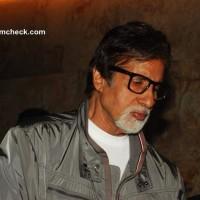 Amitabh Bachchan at Special Screening of Underworld Thriller D-Day
