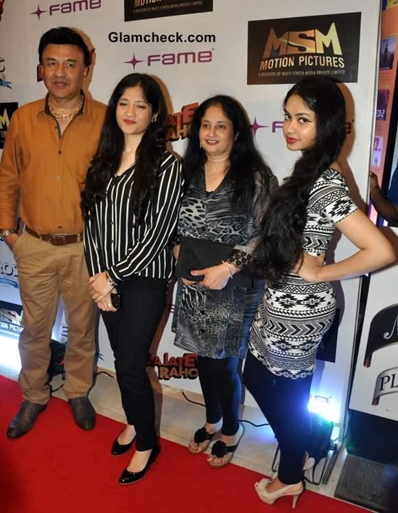 Anu Malik along with his wife Anju Malik and daughter Anmol Malik