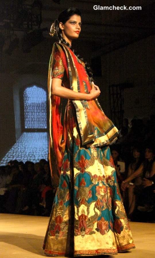 Ashima Leena Bridal Collection 2013 India Bridal Fashion Week