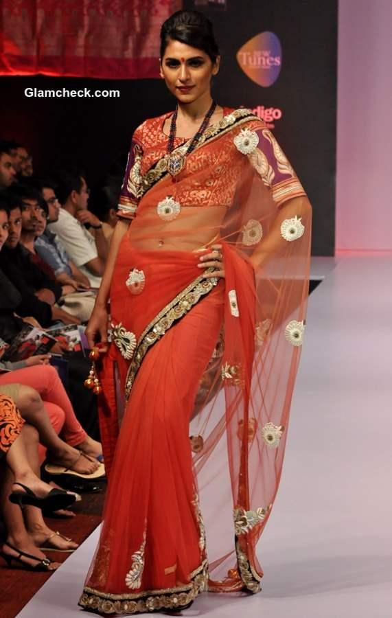 Ashok R Maanay Show at  Bangalore Fashion Week Winter-Festive 2013