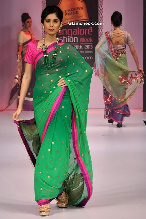 Ashok R Maanay Sree Collection at Bangalore Fashion Week Winter-Festive 2013