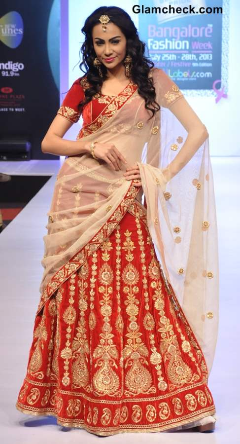 Bangalore Fashion Week 9th Edition Winter Festive 2013 Day 1 Nishant Rahul Collection