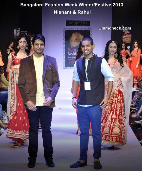 Bangalore Fashion Week 9th Edition Winter Festive 2013 Day 1 Nishant Rahul