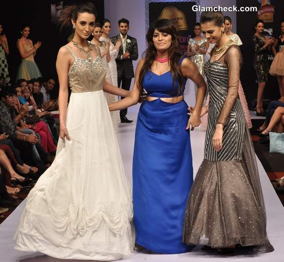 Bangalore Fashion Week 9th Edition Winter Festive 2013 Nirvika Sharma