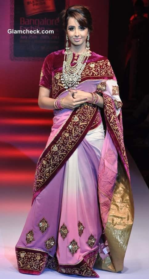Bangalore Fashion Week Winter-Festive 2013 Ashok R Maanay Show