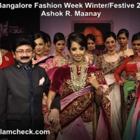 Bangalore Fashion Week Winter-Festive 2013 Day 3 - Ashok R Maanay