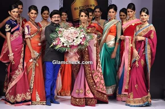 Bangalore Fashion Week Winter-Festive 2013 Day 3 - Ashok R Maanay Collection