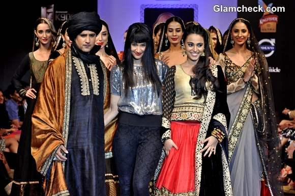 Bangalore Fashion Week Winter-Festive 2013 Day 3 - Maushmi Badra