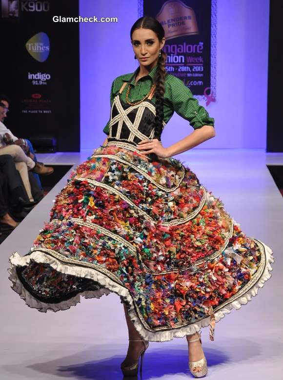 Bangalore Fashion Week Winter Festive 2013 - Gopal Manali Collection