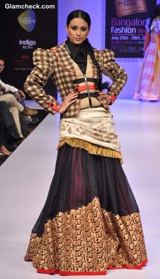 Bangalore Fashion Week Winter Festive 2013 - Gopal Manali show
