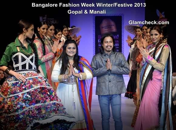 Bangalore Fashion Week Winter Festive 2013 - Gopal Manali