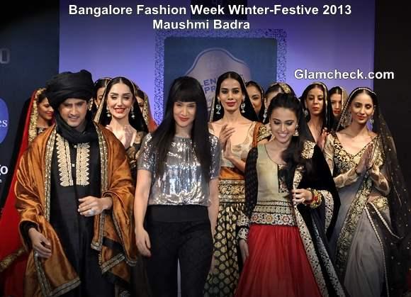 Bangalore Fashion Week Winter-Festive 2013 Maushmi Badra Collection