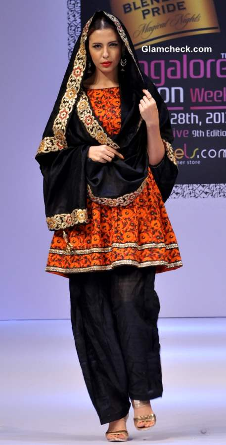 Bangalore Fashion Week Winter-Festive 2013 Maushmi Badra Show