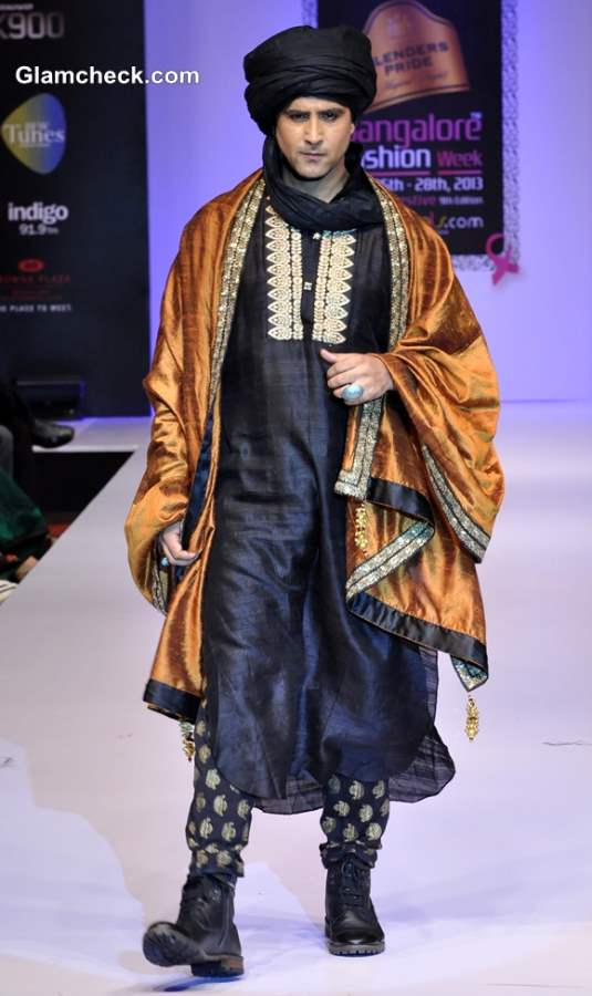 Bangalore Fashion Week Winter-Festive 2013 Maushmi Badra menswear collection