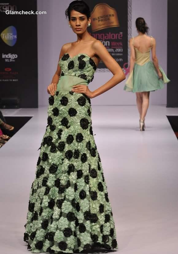 Bangalore Fashion Week Winter Festive 2013 Nirvika Sharma