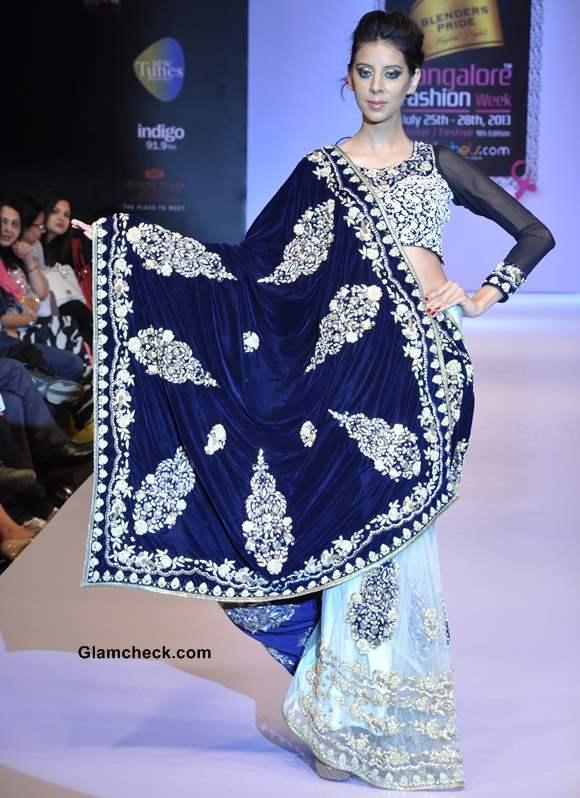 Bangalore Fashion Week Winter Festive 2013  Nupur Anirudh show