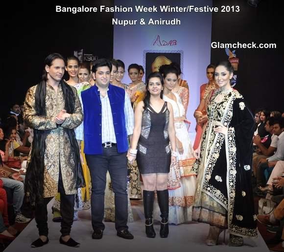 Bangalore Fashion Week Winter Festive 2013  Nupur Anirudh