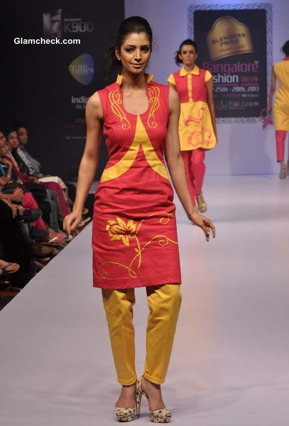 Bangalore Fashion Week Winter Festive 2013 Parul Potlia Collection