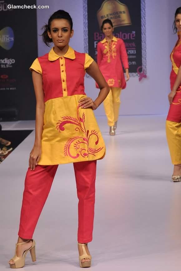 Bangalore Fashion Week Winter Festive 2013 Parul Potlia Show