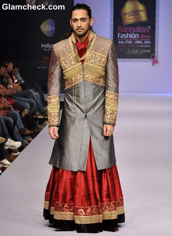 Bangalore Fashion Week Winter Festive 2013 Sagar Tenali Collection