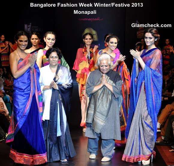 Blenders Pride Bangalore Fashion Week 9th Edition Winter Festive 2013 -Day 1 Finale Monapali