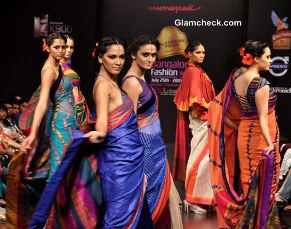 Blenders Pride Bangalore Fashion Week 9th Edition Winter Festive 2013 -Day 1 Monapali