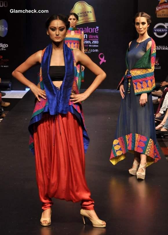 Blenders Pride Bangalore Fashion Week  Winter Festive 2013 -Day 1 Finale Monapali