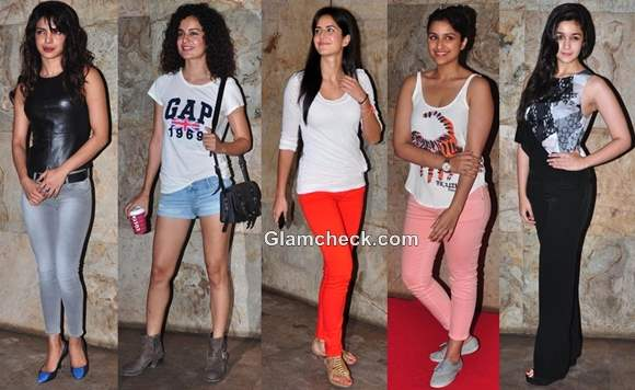 Bollywood Style Inspiration Celebs Weekend Movie Look