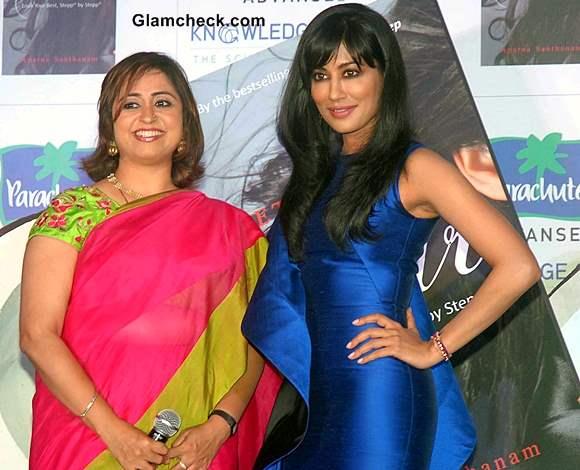 Chitrangda Singh at Lets Talk Hair Book Launch