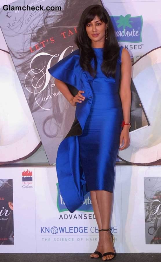 Chitrangda Singh in Gauri Nainika at Lets Talk Hair Book Launch