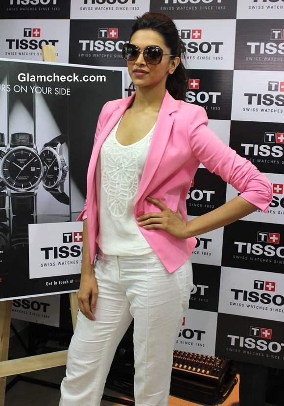 Deepika Padukone 2013 Launches TISSOT Boutique in Bangalore