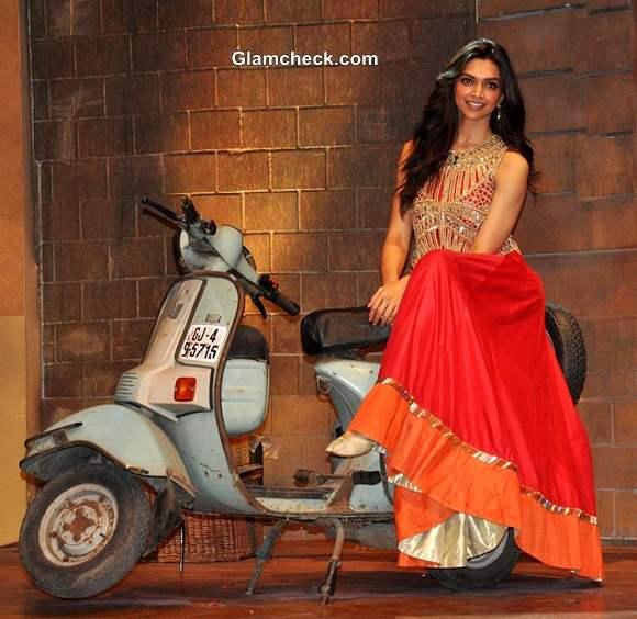 Deepika Padukone Promotes Chennai Express