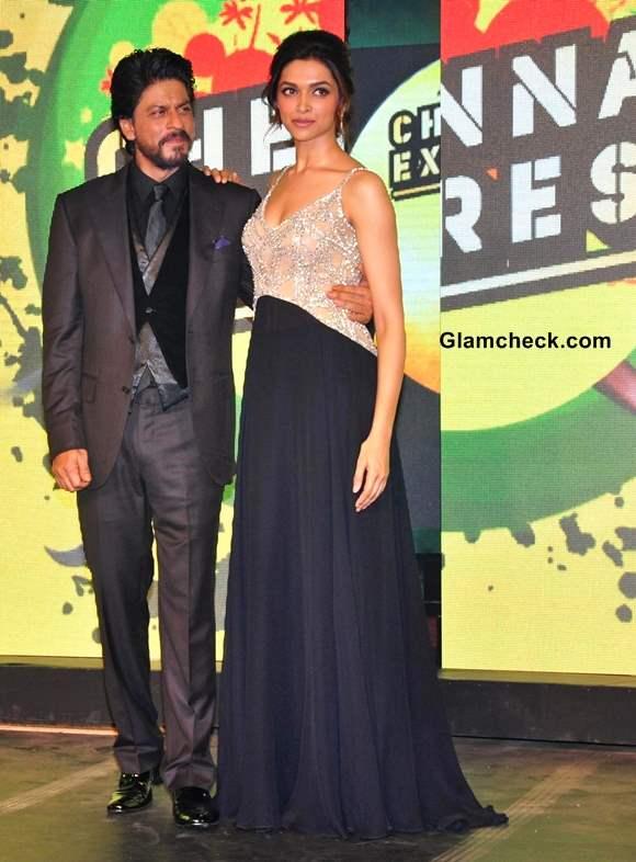 Deepika Padukone Shrukh Khan 2013 Chennai Express