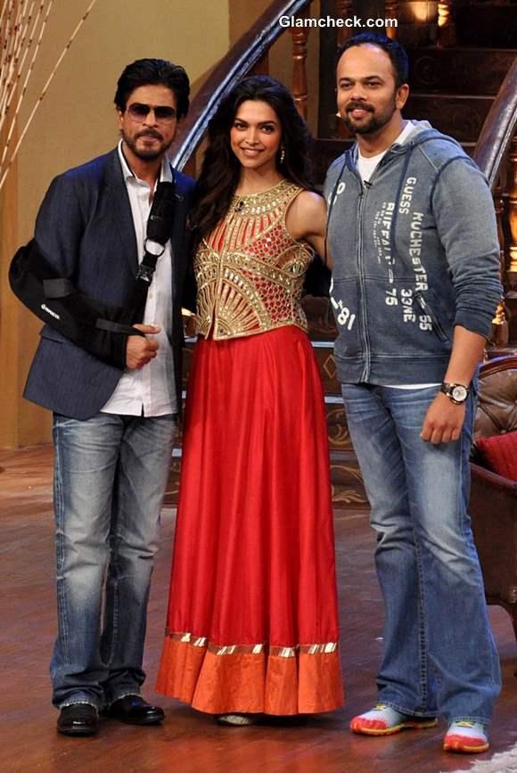 Deepika Padukone at Chennai Express Promotions