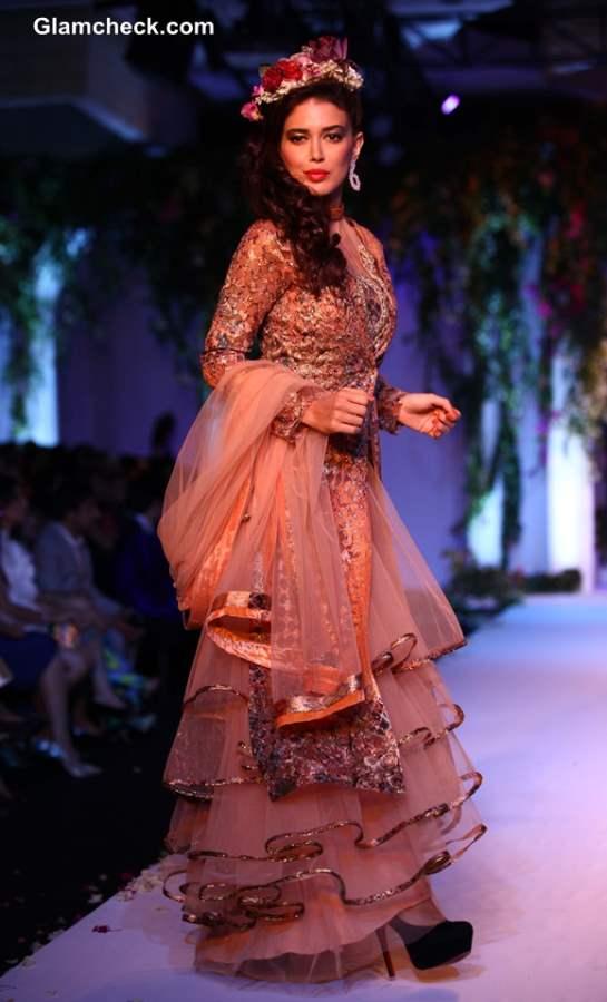 Falguni Shane Peacock India Bridal Fashion Week 2013