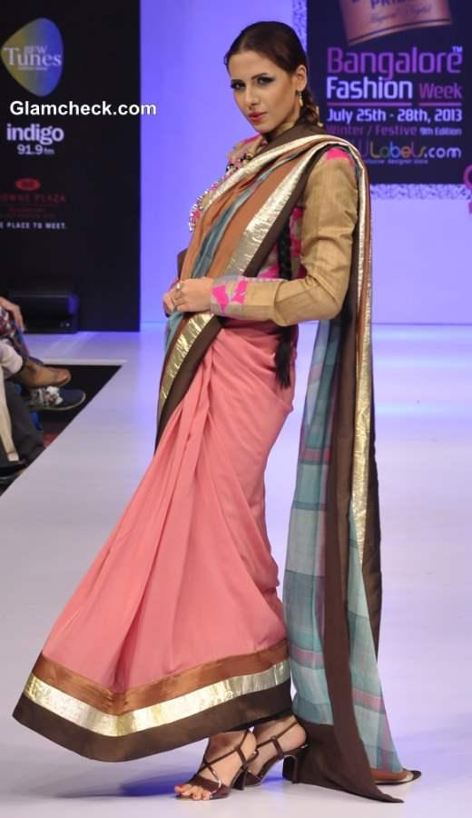 Gopal Manali at Bangalore Fashion Week Winter Festive 2013
