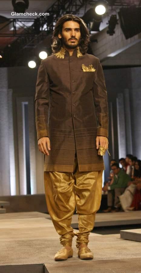 Grooms collection at India Bridal Fashion Week 2013 Shantanu Nikhil