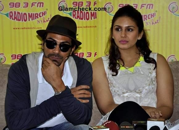 Huma Qureshi Arjun Rampal Launch D-Day Music on Radio Mirchi