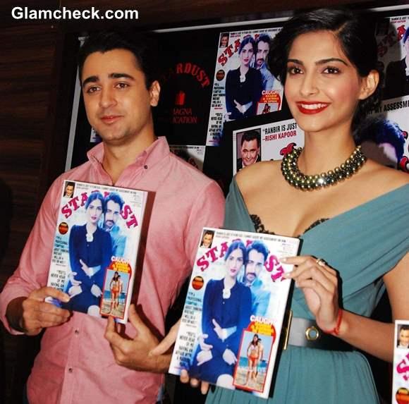 Imran Khan Sonam Kapoor Stardust Cover Launch