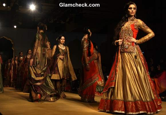 India Bridal Fashion Week 2013 Ashima and Leena Show day 4