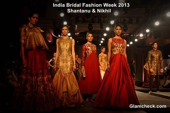 India Bridal Fashion Week 2013 Day 1 - Shantanu and Nikhil Collection