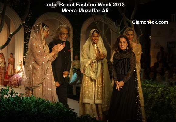 India Bridal Fashion Week 2013 Day 2 Meera Muzaffar Ali