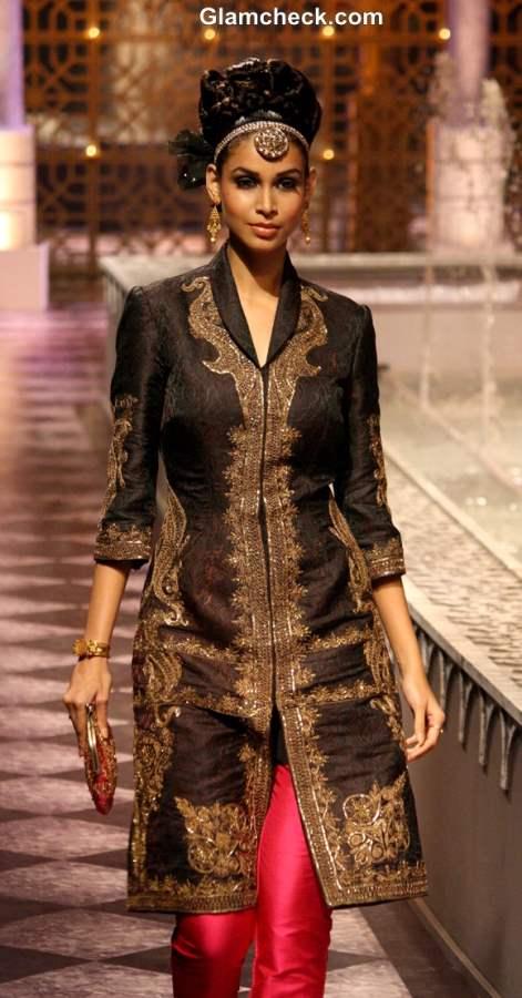 India Bridal Fashion Week 2013 Day 3 - Raghavendra Rathore collection pink black