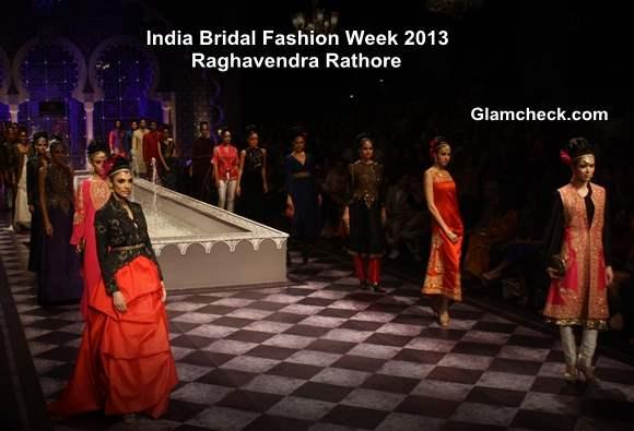 India Bridal Fashion Week 2013 Day 3 - Raghavendra Rathore